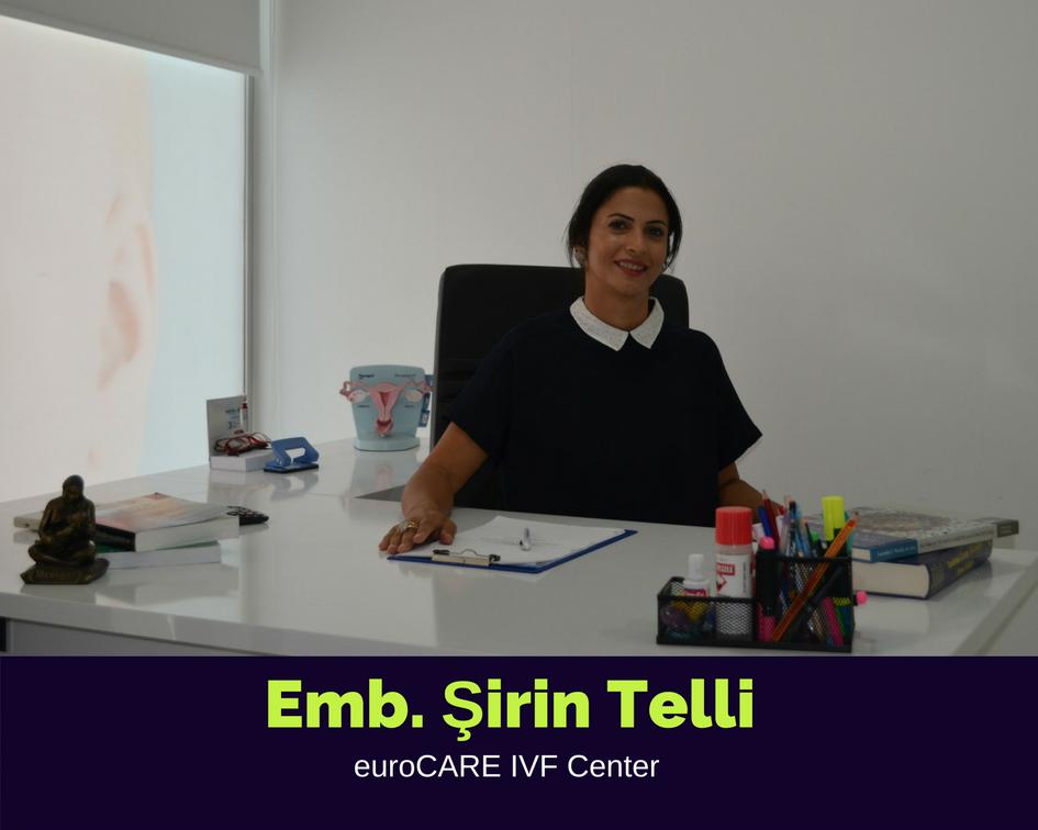 EMB. ŞİRİN USTA, Embryologist